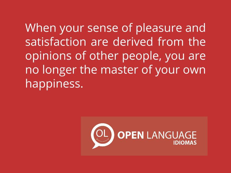 Sense of pleasure